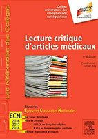 meilleurs livres ECN Lecture critique d'articles médicaux