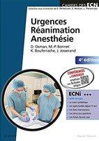 meilleurs livres ECN Urgences Réanimation Anesthésie